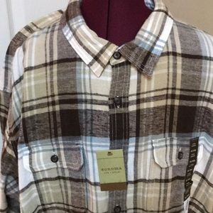 Sonoma Shirts - Mens Size 4XB Flannel Shirt By Sonoma NWTS